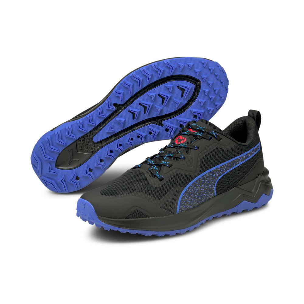Изображение Puma Кроссовки Better Foam Xterra Running Shoes #2: Puma Black-High Risk Red