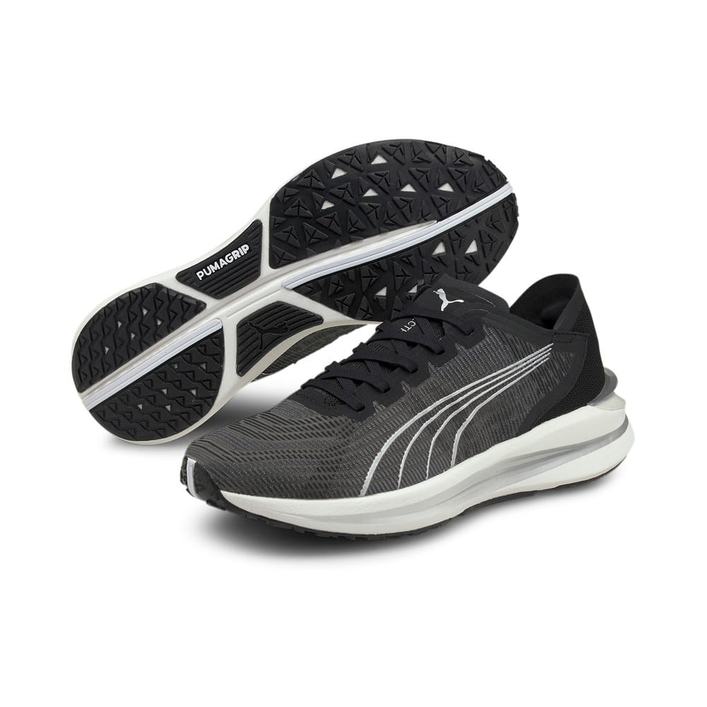 Изображение Puma Кроссовки Electrify Nitro Women's Running Shoes #2: Puma Black