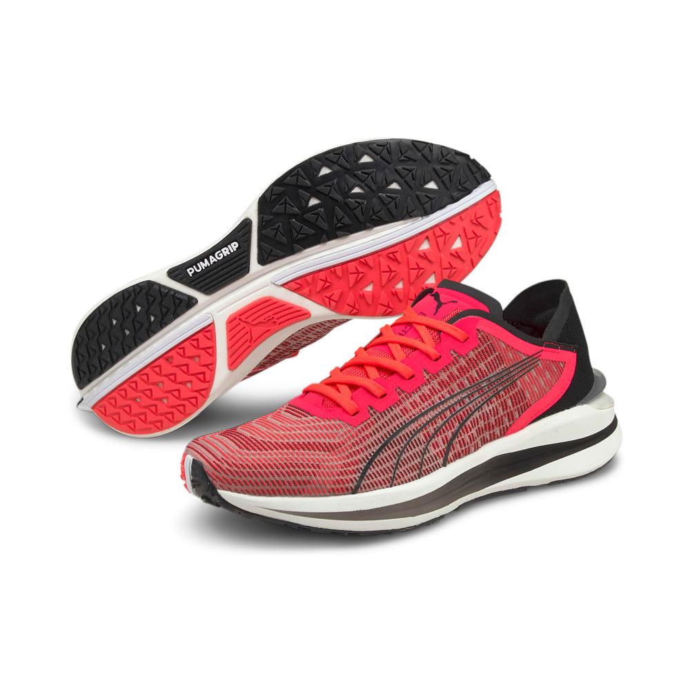 Изображение Puma Кроссовки Electrify Nitro Women's Running Shoes #2: Sunblaze-Puma Black