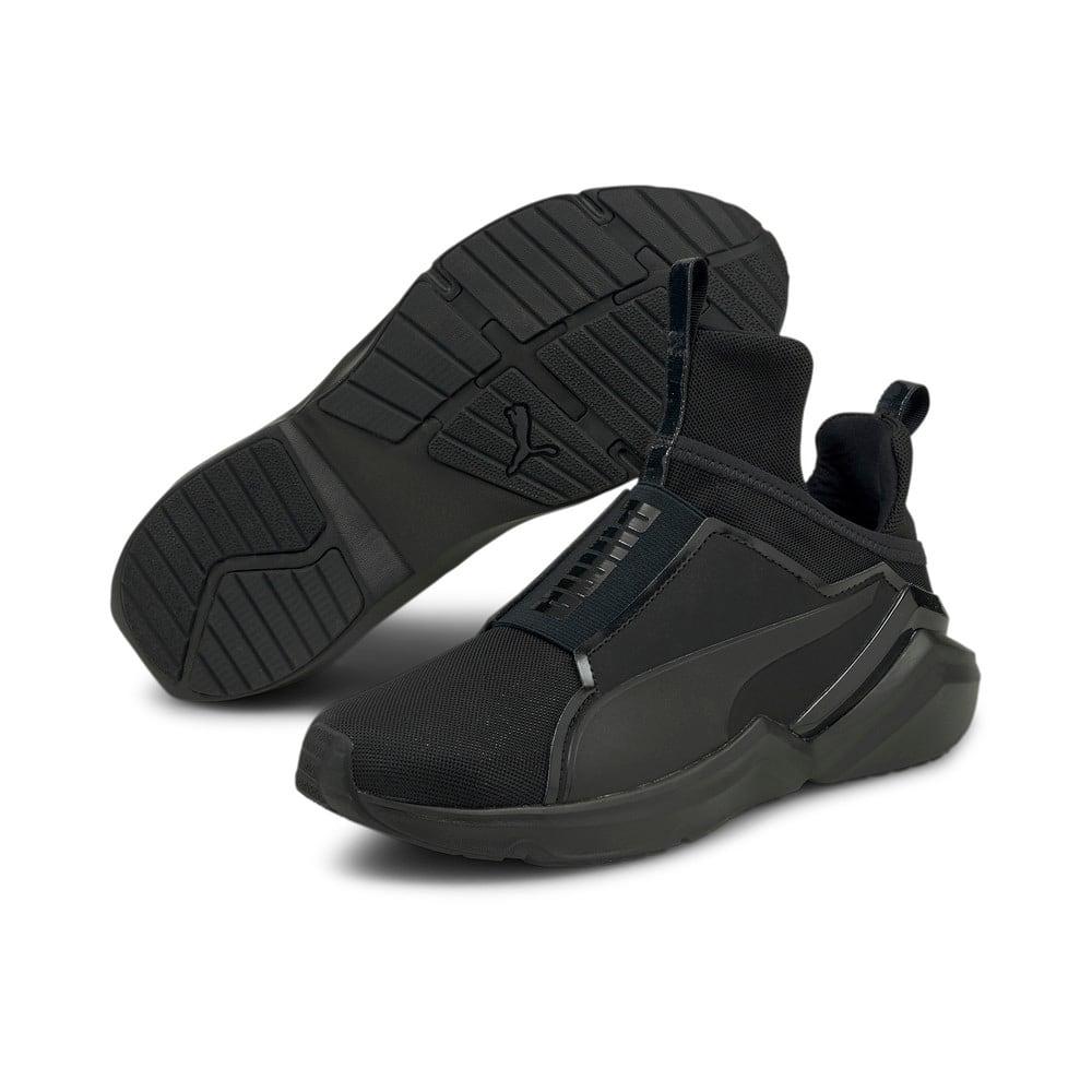 Изображение Puma Кроссовки Fierce 2 Women's Training Shoes #2: Puma Black-Metallic Silver