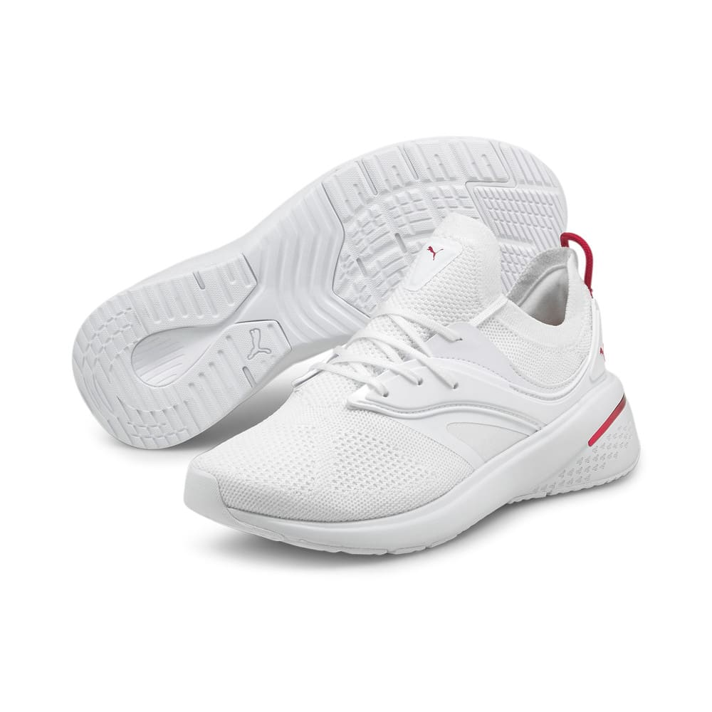 Зображення Puma Кросівки Forever XT Women's Training Shoes #2: Puma White-Persian Red