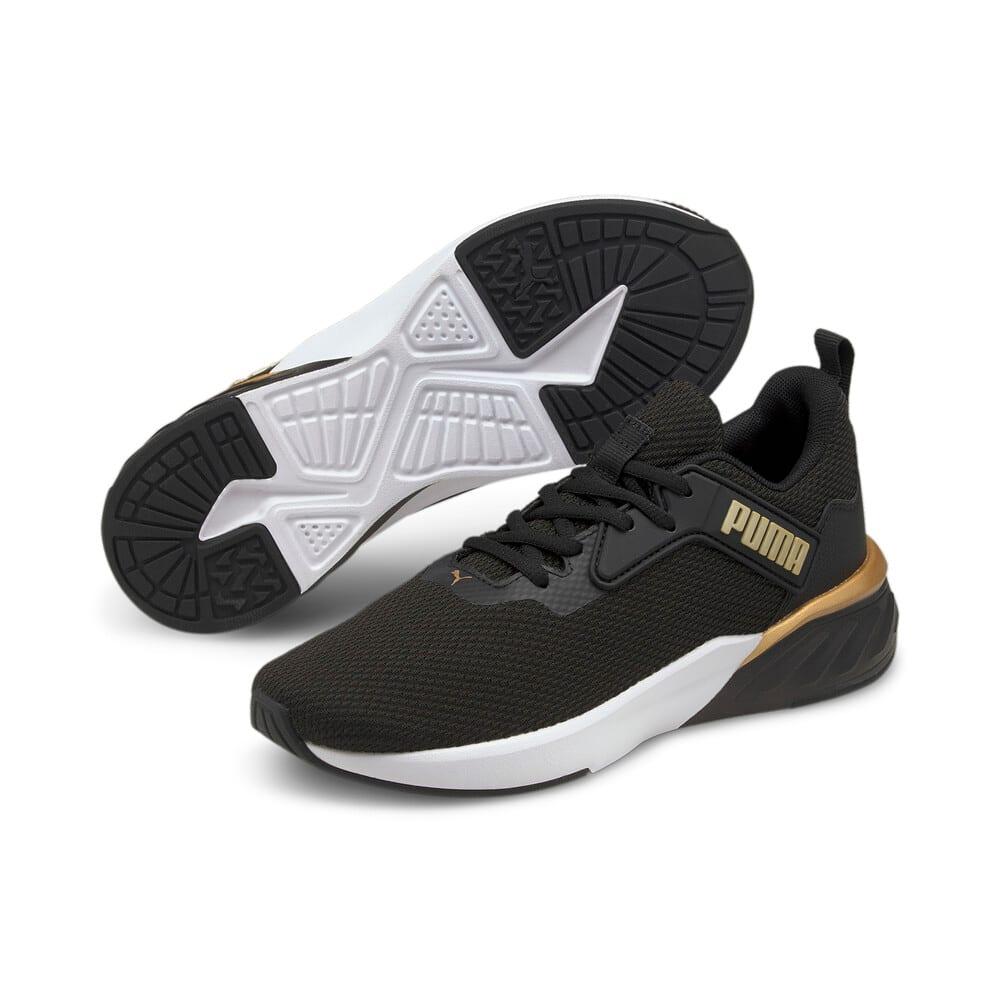 Зображення Puma Кросівки Erupter Women's Running Shoes #2: Puma Black-Puma Team Gold