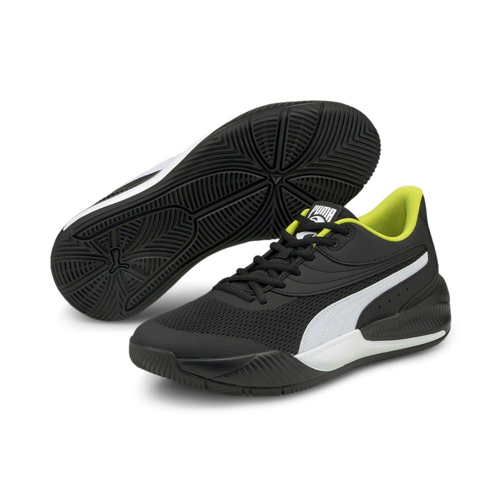 Изображение Puma Кроссовки Triple Basketball Shoes #2: Puma Black-Puma White
