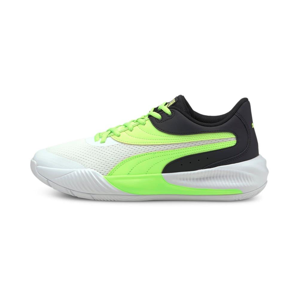 Изображение Puma Кроссовки Triple Basketball Shoes #1: Puma White-Green Glare