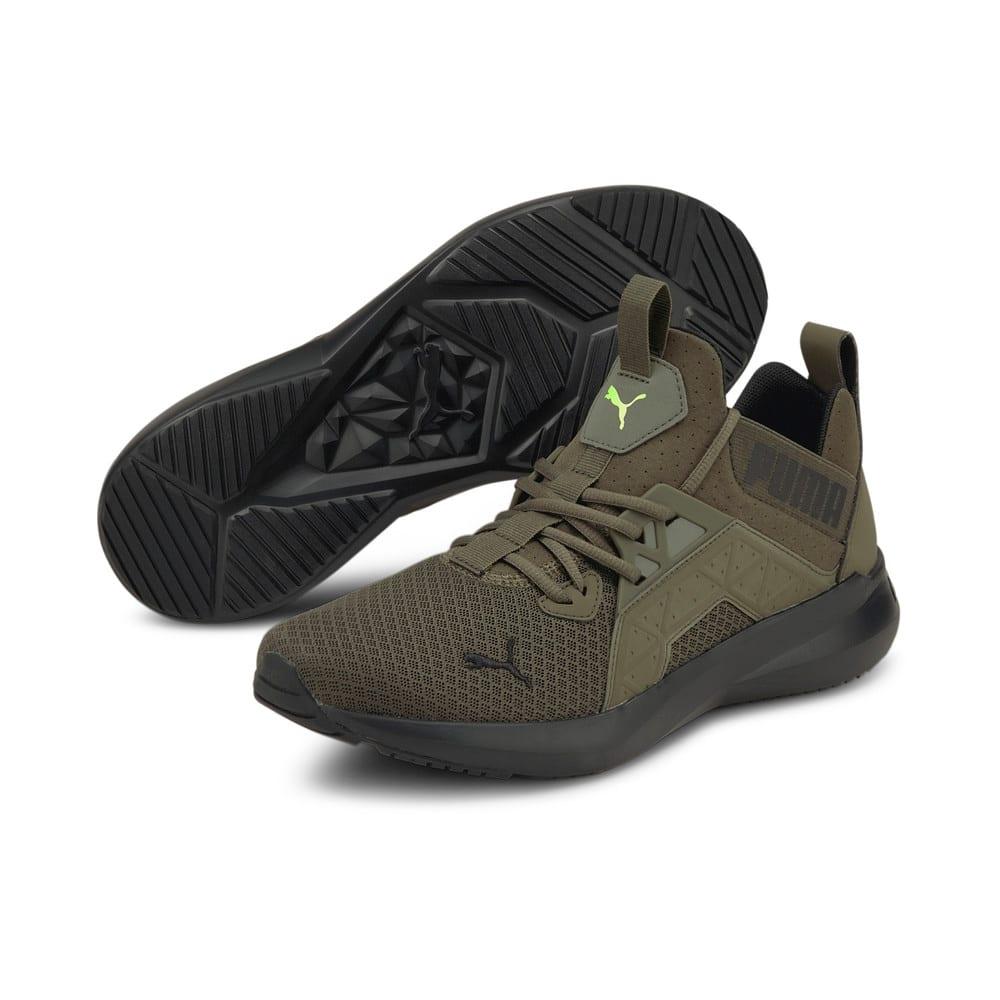 Зображення Puma Кросівки Softride Enzo NXT Men's Running Shoes #2: Grape Leaf-Puma Black-Green Glare