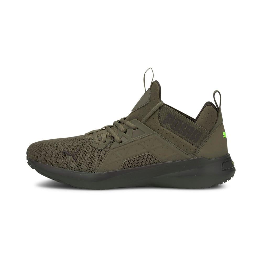 Зображення Puma Кросівки Softride Enzo NXT Men's Running Shoes #1: Grape Leaf-Puma Black-Green Glare
