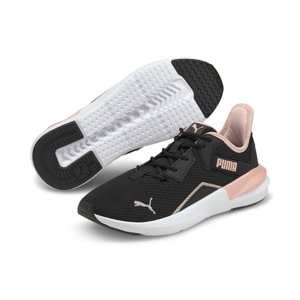 Изображение Puma Кроссовки Platinum Shimmer Women's Training Shoes #2: Puma Black-Lotus