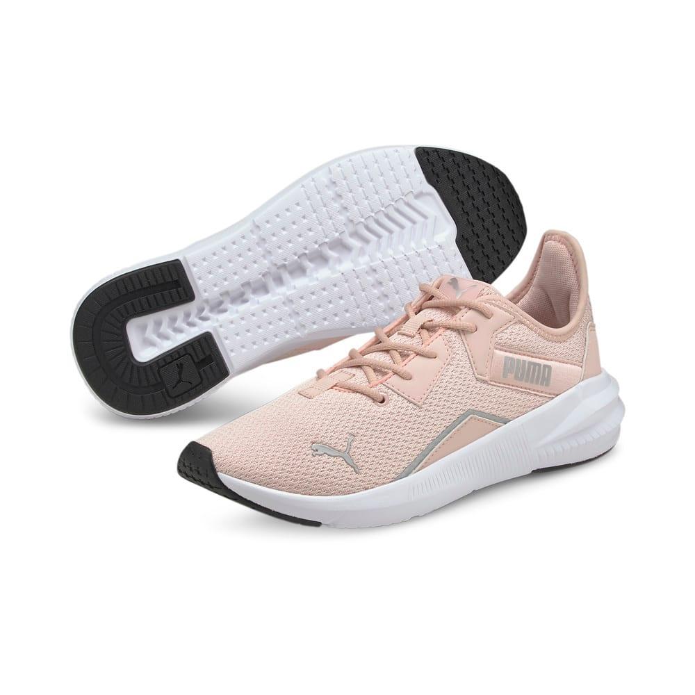 Зображення Puma Кросівки Platinum Shimmer Women's Training Shoes #2: Lotus-Metallic Silver
