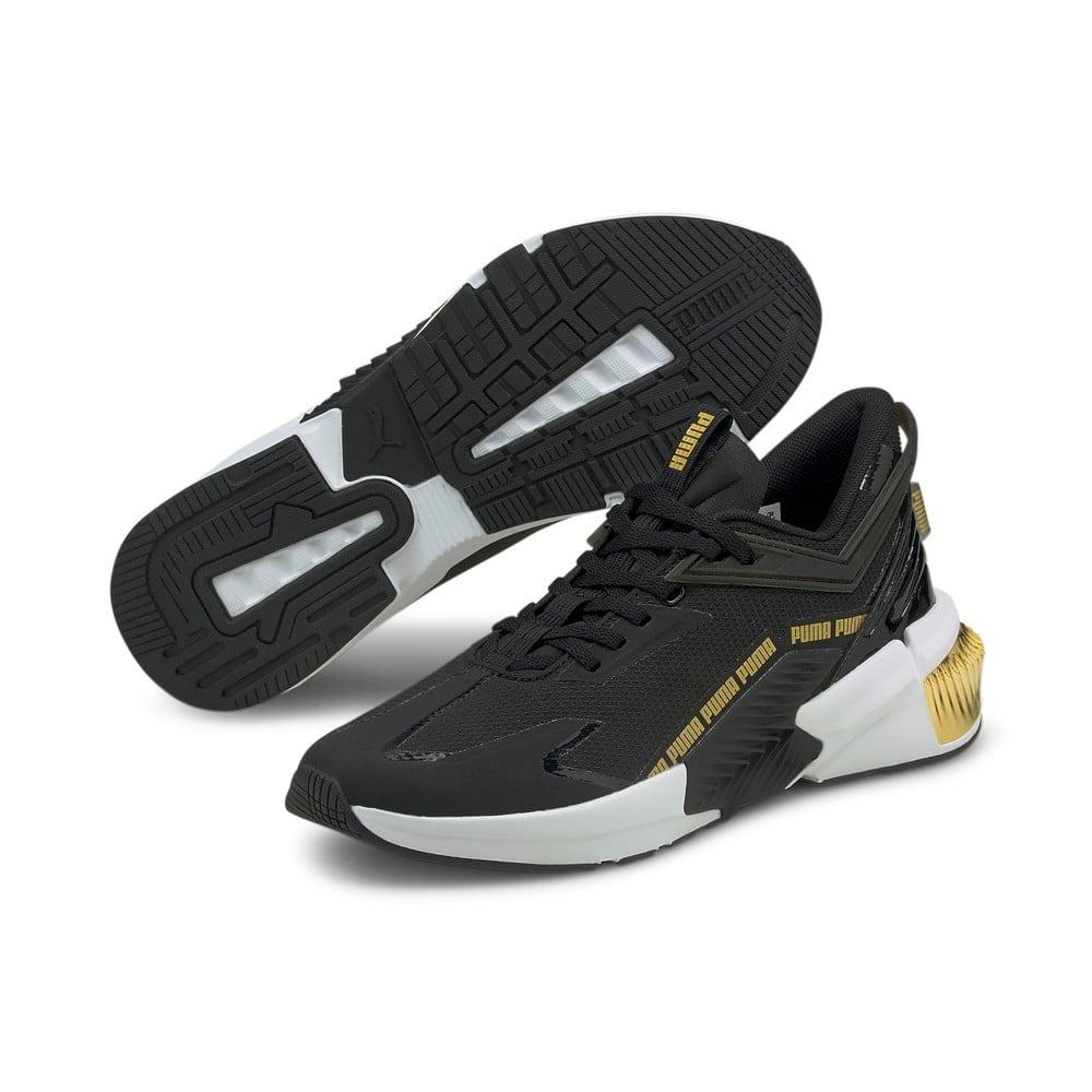 Изображение Puma Кроссовки Provoke XT FTR Moto Women's Training Shoes #2: Puma Black-Puma Team Gold