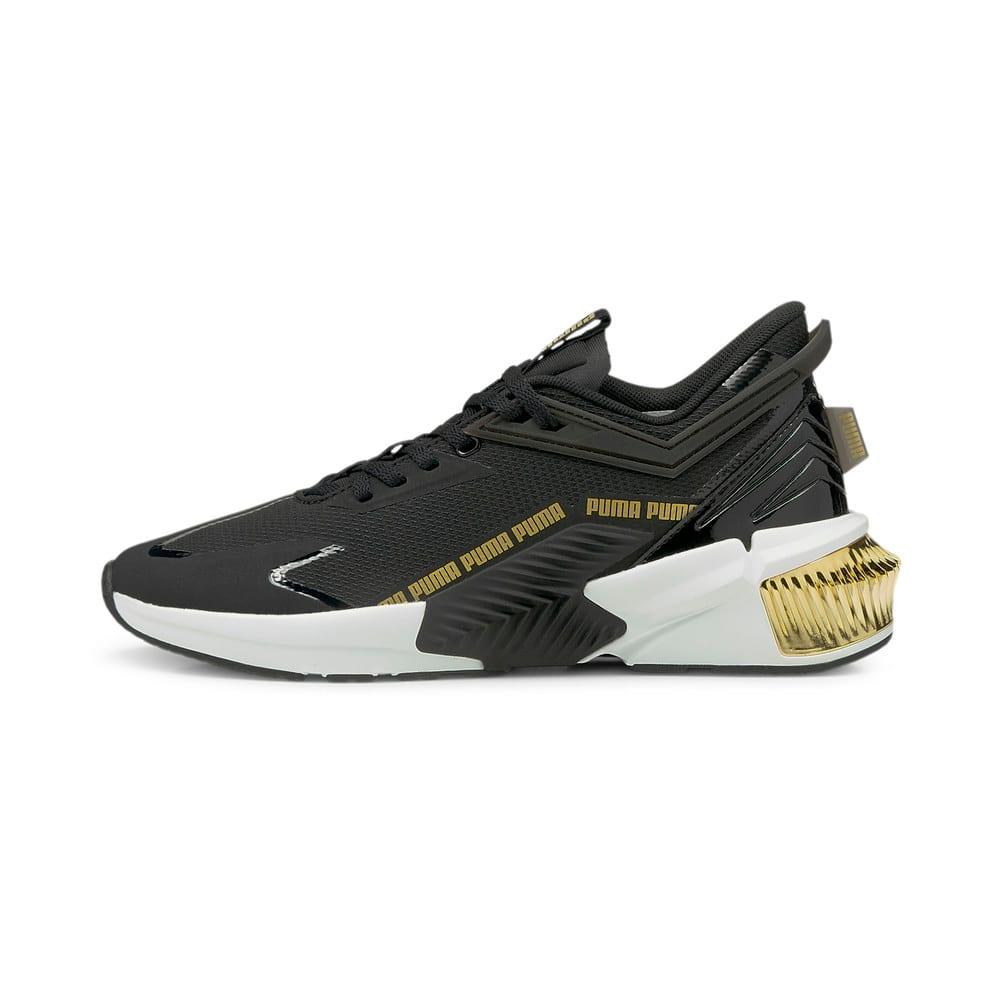 Изображение Puma Кроссовки Provoke XT FTR Moto Women's Training Shoes #1: Puma Black-Puma Team Gold