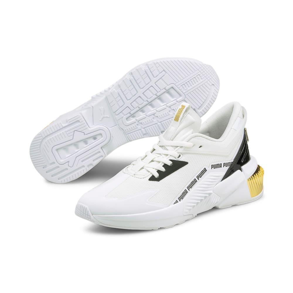 Зображення Puma Кросівки Provoke XT FTR Moto Women's Training Shoes #2: Puma White-Puma Team Gold