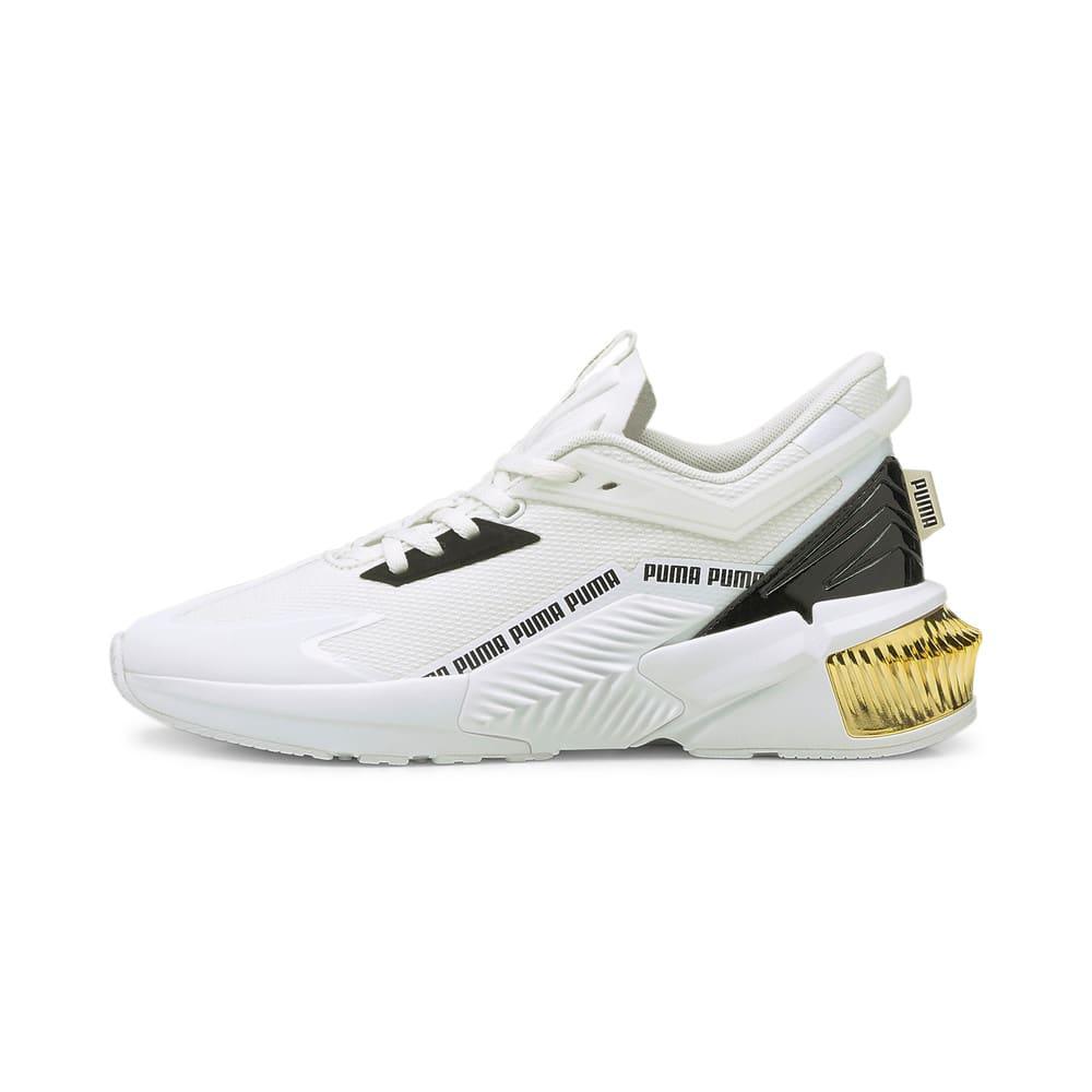 Зображення Puma Кросівки Provoke XT FTR Moto Women's Training Shoes #1: Puma White-Puma Team Gold