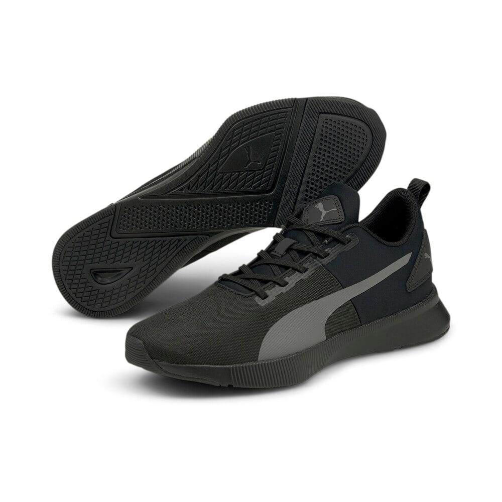 Зображення Puma Кросівки FLYER Runner Mesh Running Shoes #2: Puma Black-CASTLEROCK