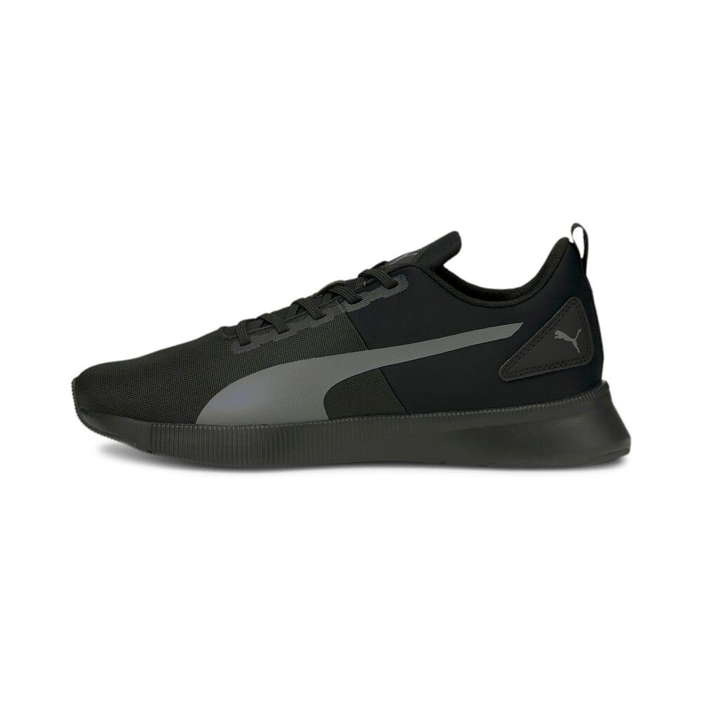 Зображення Puma Кросівки FLYER Runner Mesh Running Shoes #1: Puma Black-CASTLEROCK