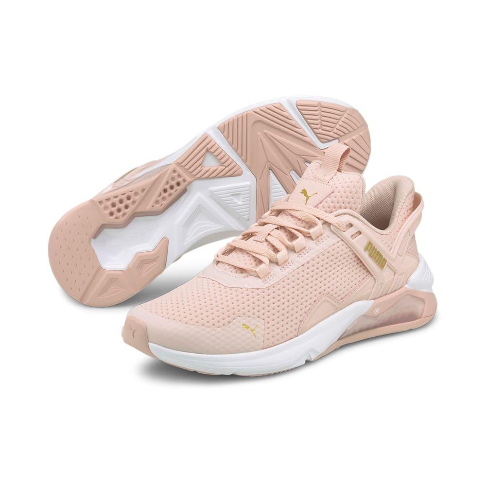 Изображение Puma Кроссовки LQDCELL Method 2.0 Women's Training Shoes #2: Lotus-Puma White-Puma Team Gold