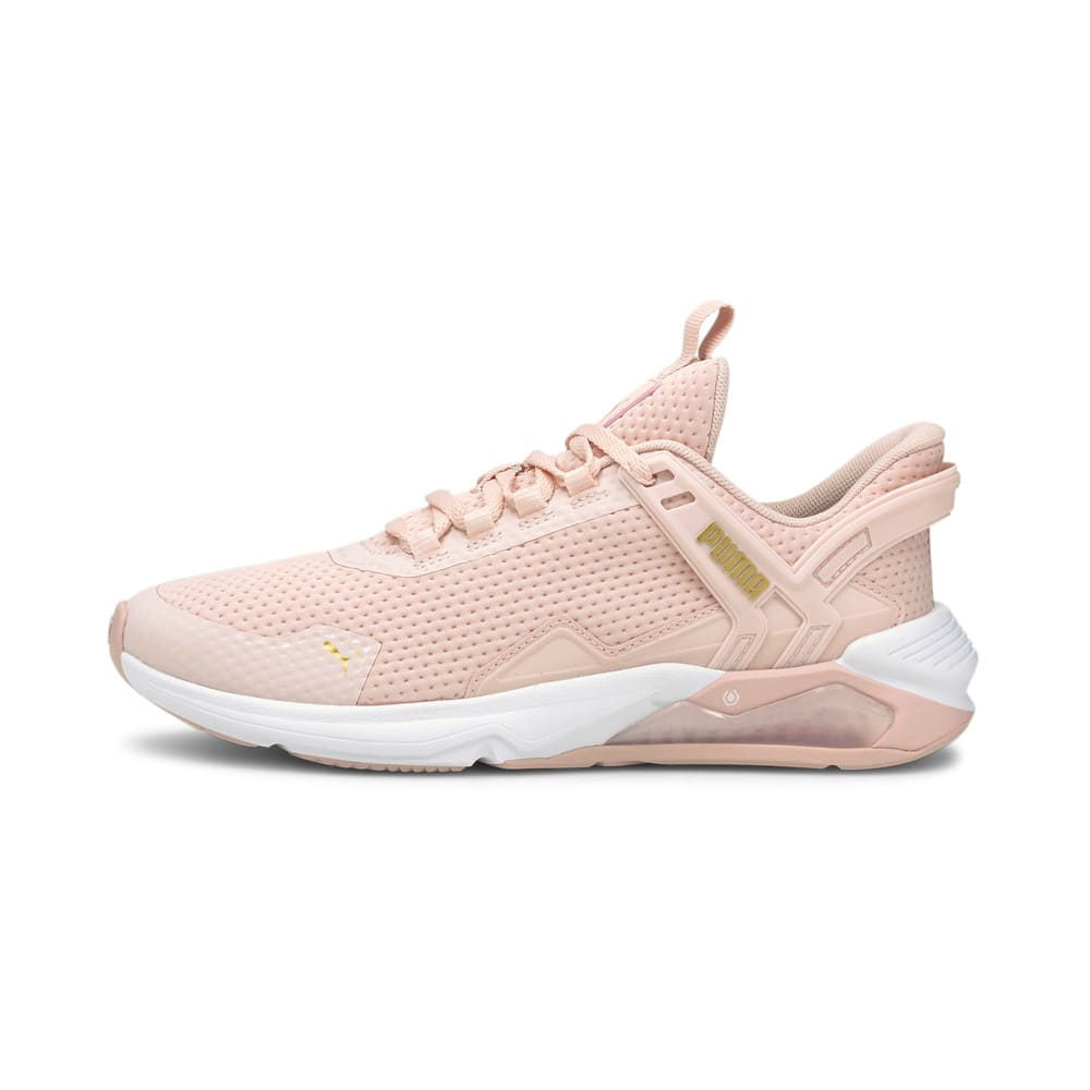 Изображение Puma Кроссовки LQDCELL Method 2.0 Women's Training Shoes #1: Lotus-Puma White-Puma Team Gold