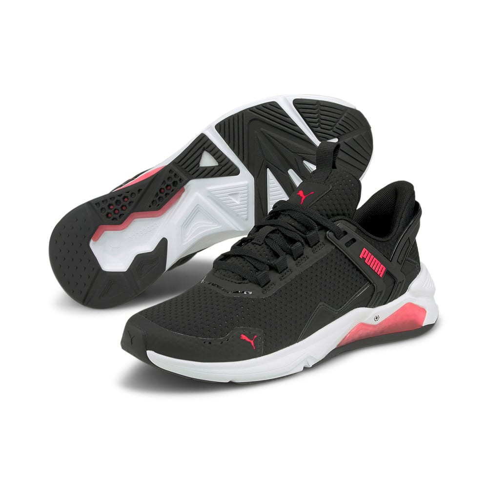 Изображение Puma Кроссовки LQDCELL Method 2.0 Women's Training Shoes #2: Puma Black-Puma White-Sunblaze