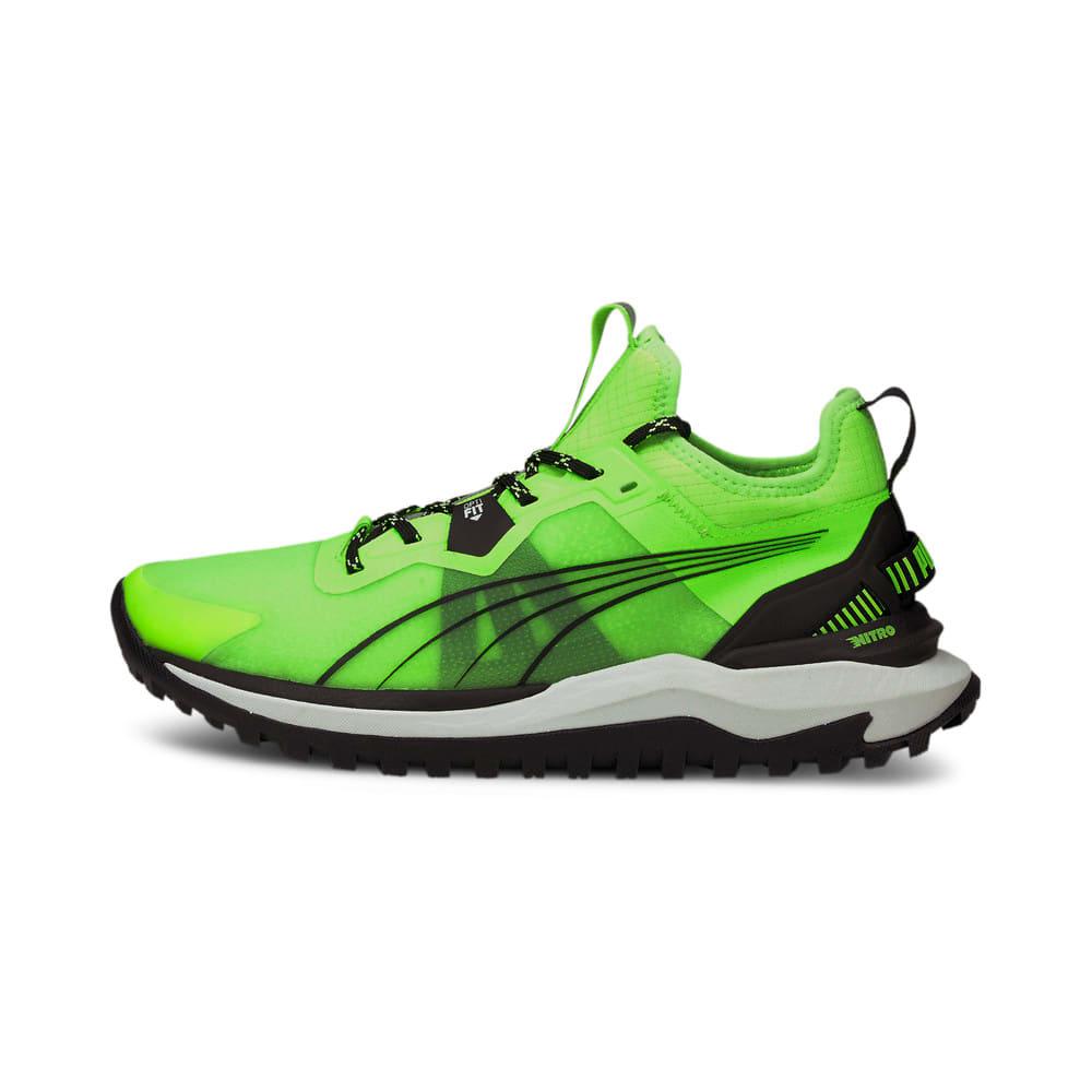 Изображение Puma Кроссовки Voyage Nitro Men's Running Shoes #1: Green Glare-Puma Black