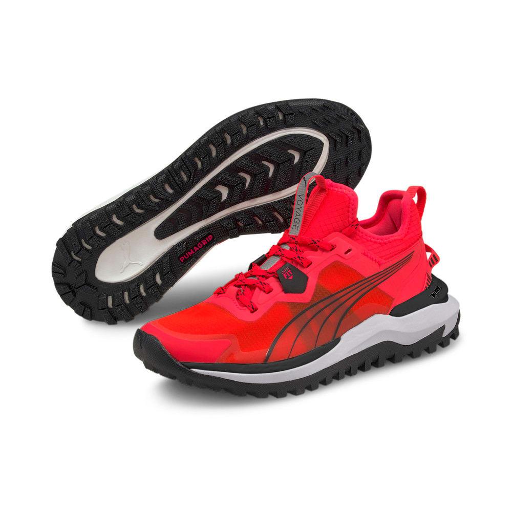 Изображение Puma Кроссовки Voyage Nitro Women's Running Shoes #2: Sunblaze-Puma Black