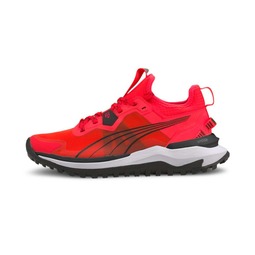 Изображение Puma Кроссовки Voyage Nitro Women's Running Shoes #1: Sunblaze-Puma Black