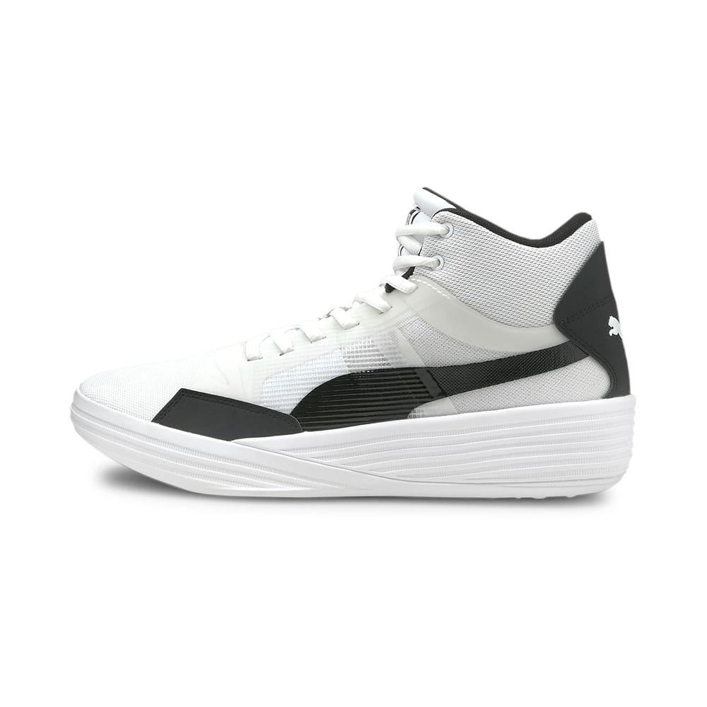 Görüntü Puma Clyde All-Pro Team Orta Boy Bilekli Basketbol Ayakkabısı #1