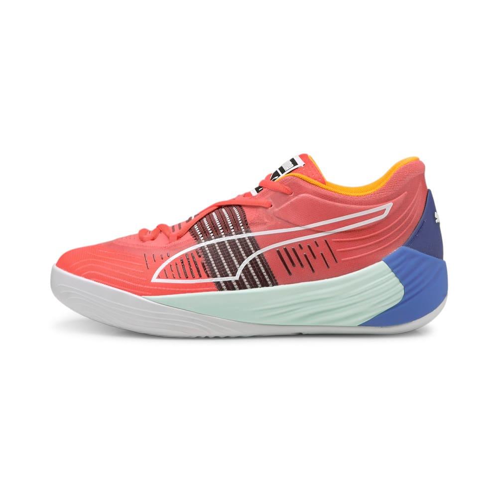 Зображення Puma Кросівки Fusion Nitro Basketball Shoes #1: Sunblaze-Bluemazing