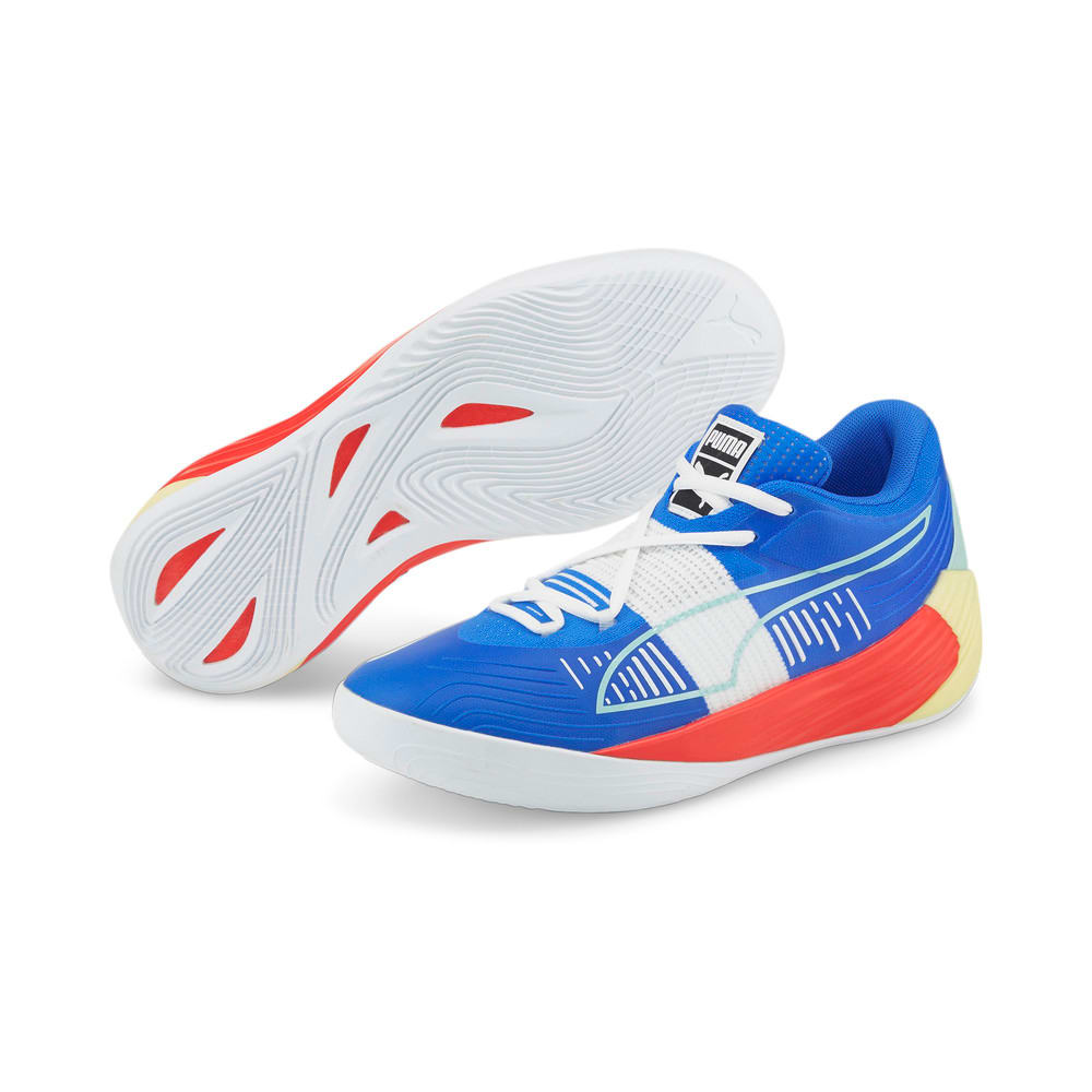 Изображение Puma Кроссовки Fusion Nitro Basketball Shoes #2: Bluemazing-Sunblaze