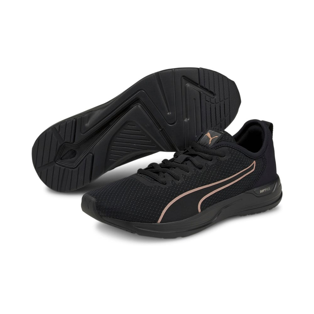 Зображення Puma Кросівки Accent Running Shoes #2: Puma Black-Rose Gold