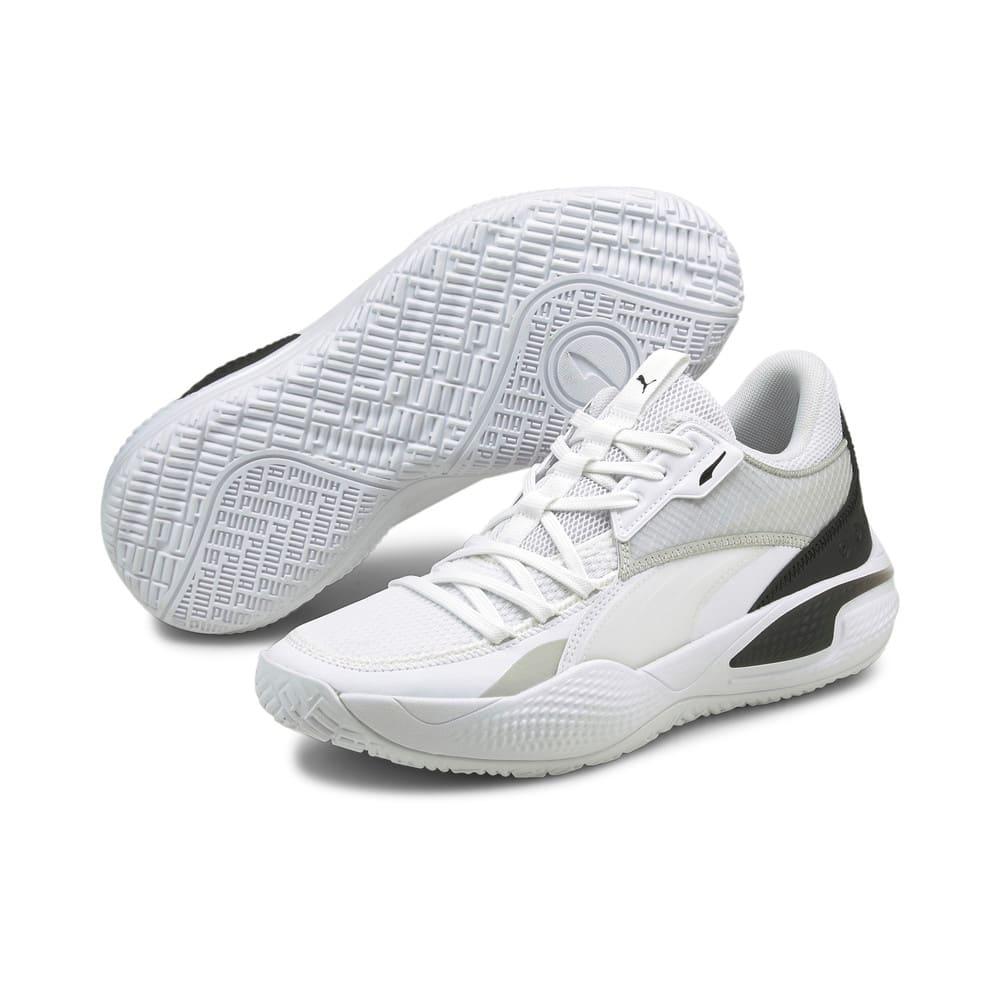 Зображення Puma Кросівки Court Rider I Basketball Shoes #2: Puma White-Puma Black