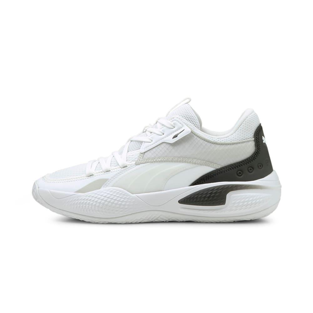 Зображення Puma Кросівки Court Rider I Basketball Shoes #1: Puma White-Puma Black
