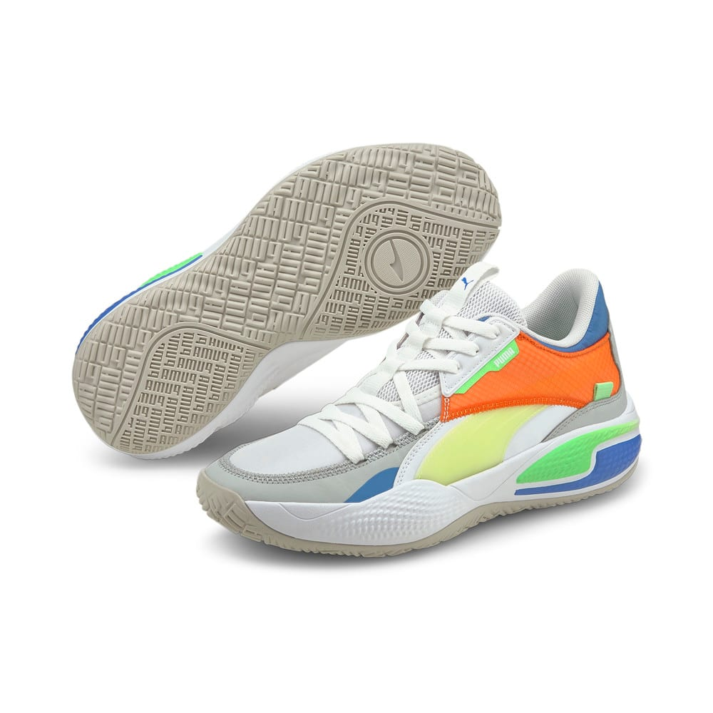 Image Puma Court Rider Twofold Basketball Shoes #2