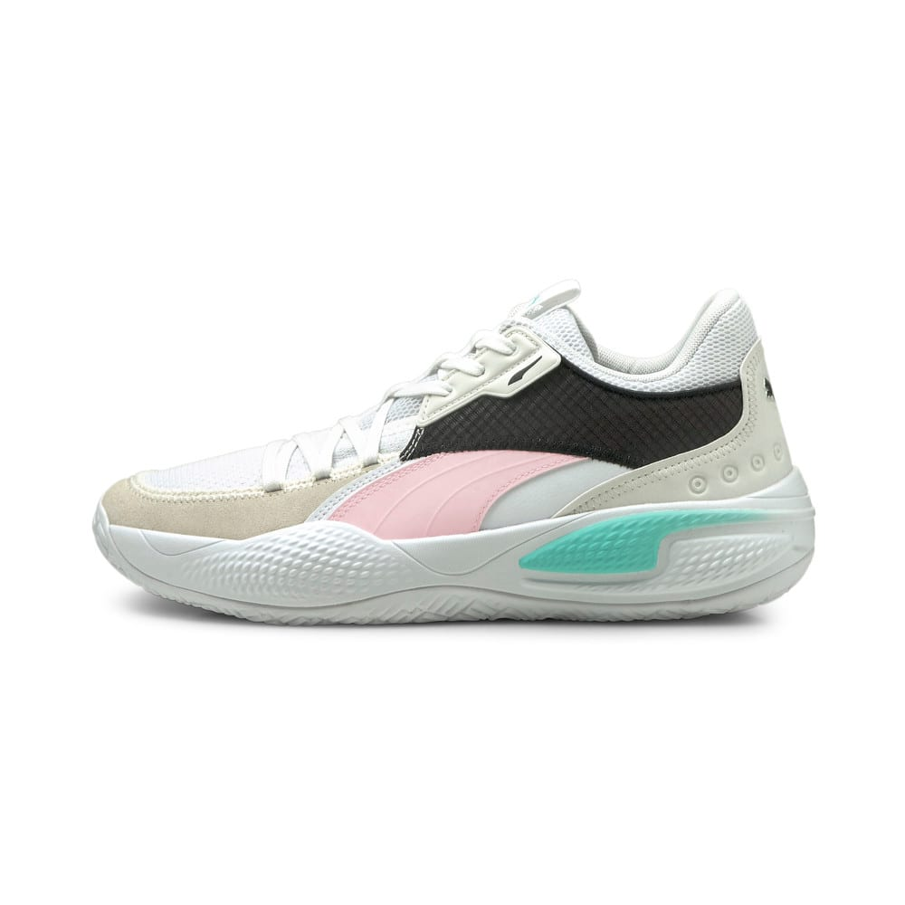 Image Puma Court Rider Summer Days Basketball Shoes #1