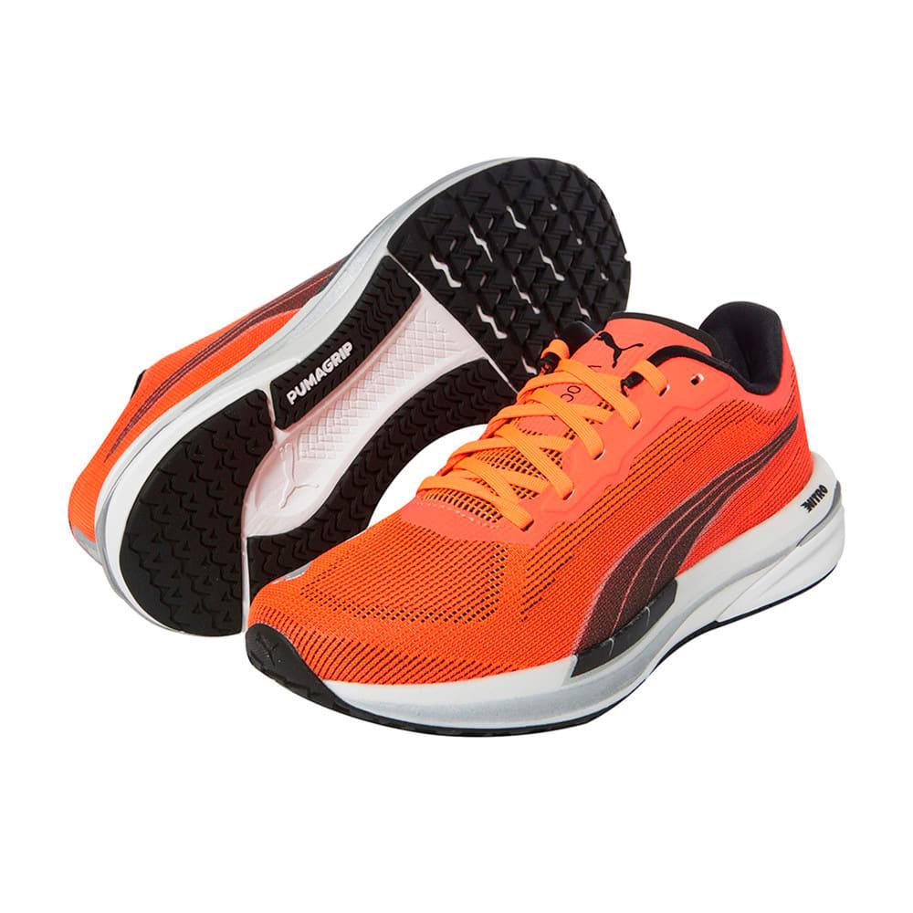 Зображення Puma Кросівки Velocity Nitro Women's Running Shoes #2: Lava Blast-Puma Black-Puma Silver