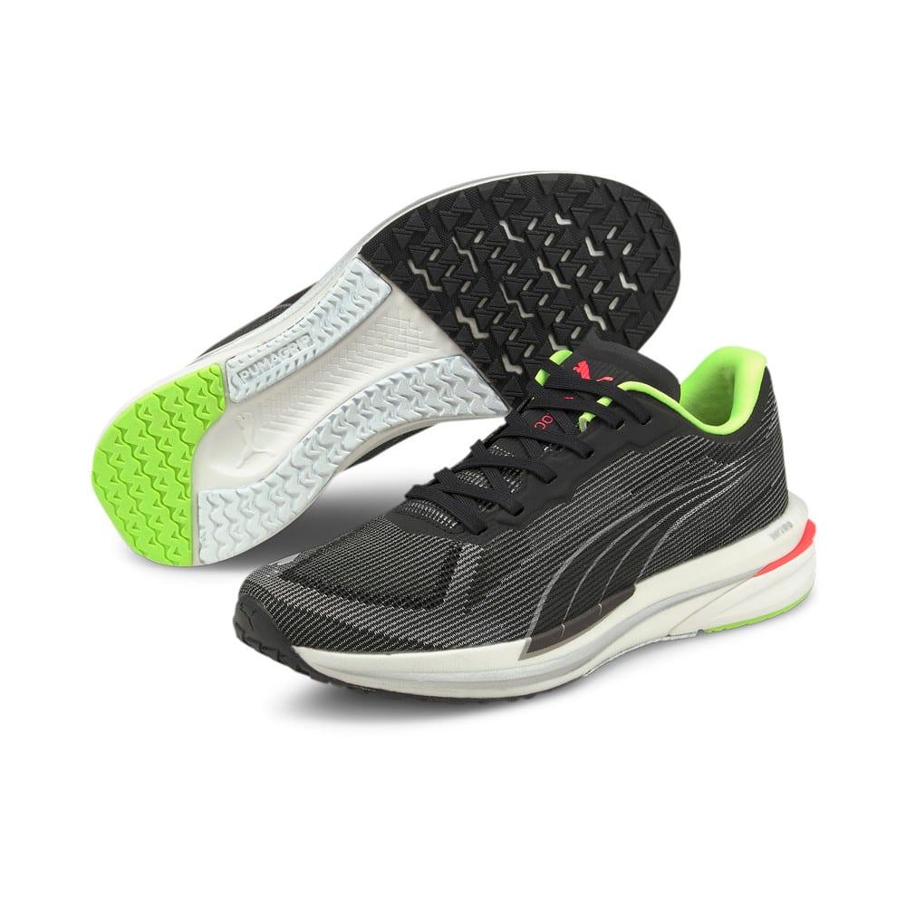 Зображення Puma Кросівки Velocity Nitro Women's Running Shoes #2: Puma Black-Puma Silver-Sunblaze