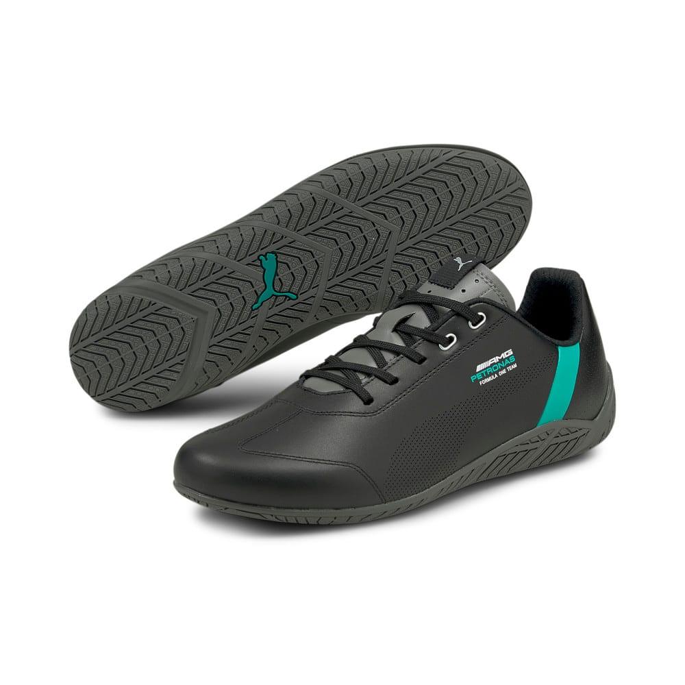 Зображення Puma Кросівки Mercedes F1 Ridge Cat Motorsport Shoes #2: Puma Black-Spectra Green-Smoked Pearl