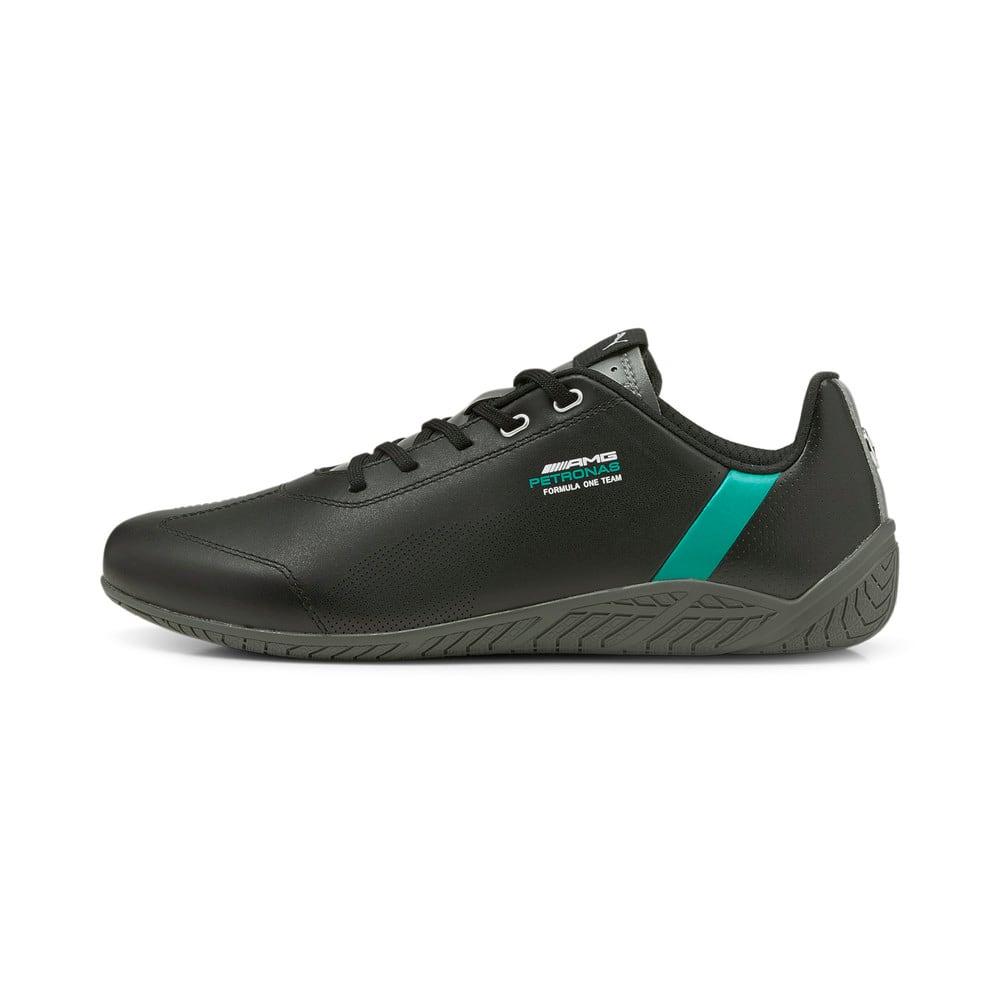 Зображення Puma Кросівки Mercedes F1 Ridge Cat Motorsport Shoes #1: Puma Black-Spectra Green-Smoked Pearl