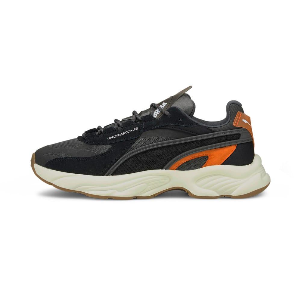 Изображение Puma Кроссовки Porsche Legacy RS-Connect Motorsport Shoes #1: Asphalt-Puma Black-Carrot