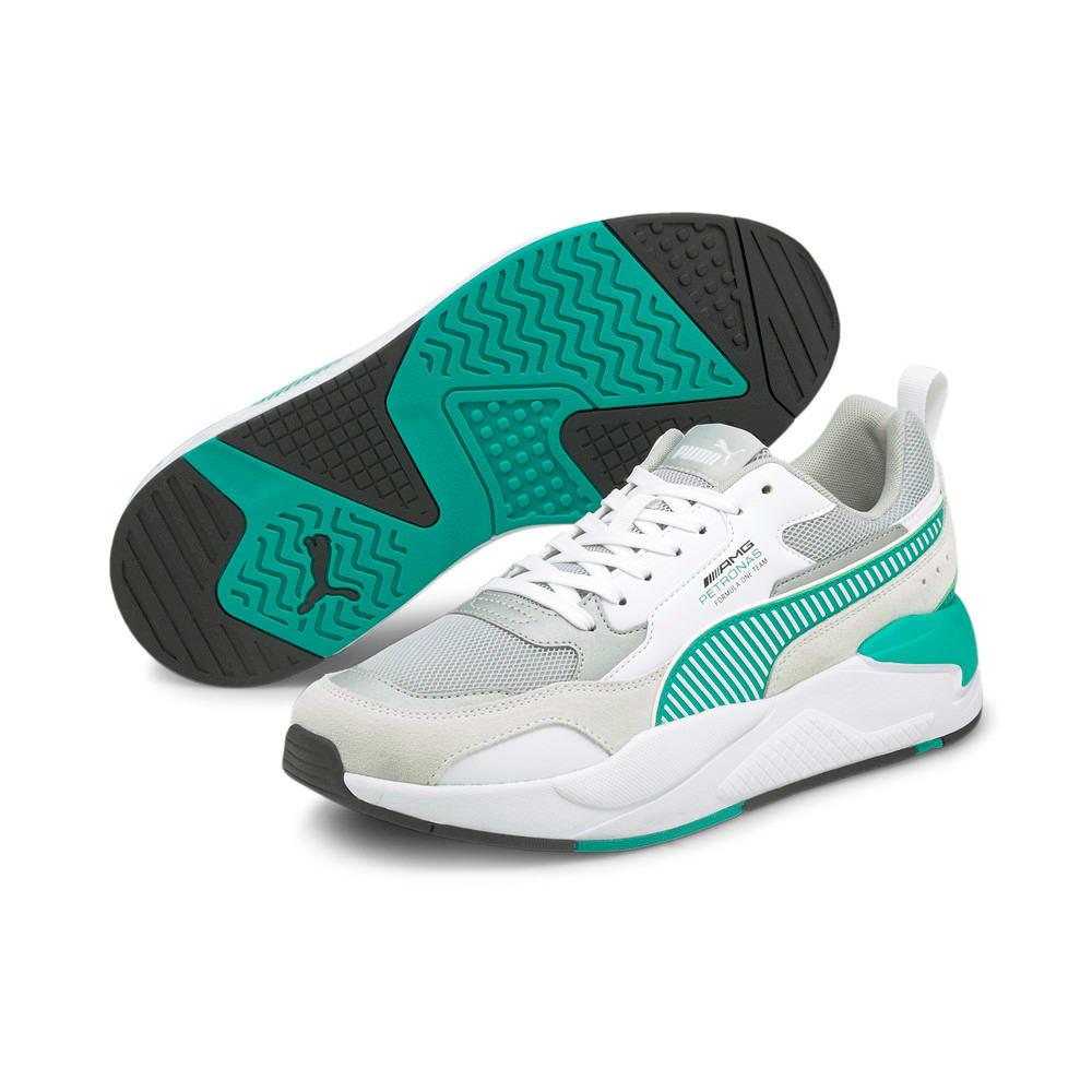 Зображення Puma Кросівки Mercedes F1 X-Ray 2 Motorsport Shoes #2: Puma White-Spectra Green