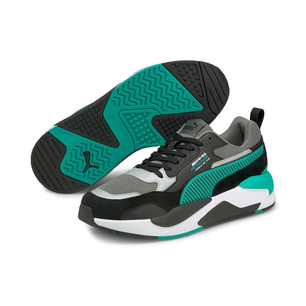 Изображение Puma Кроссовки Mercedes F1 X-Ray 2 Motorsport Shoes #2: Puma Black-Spectra Green
