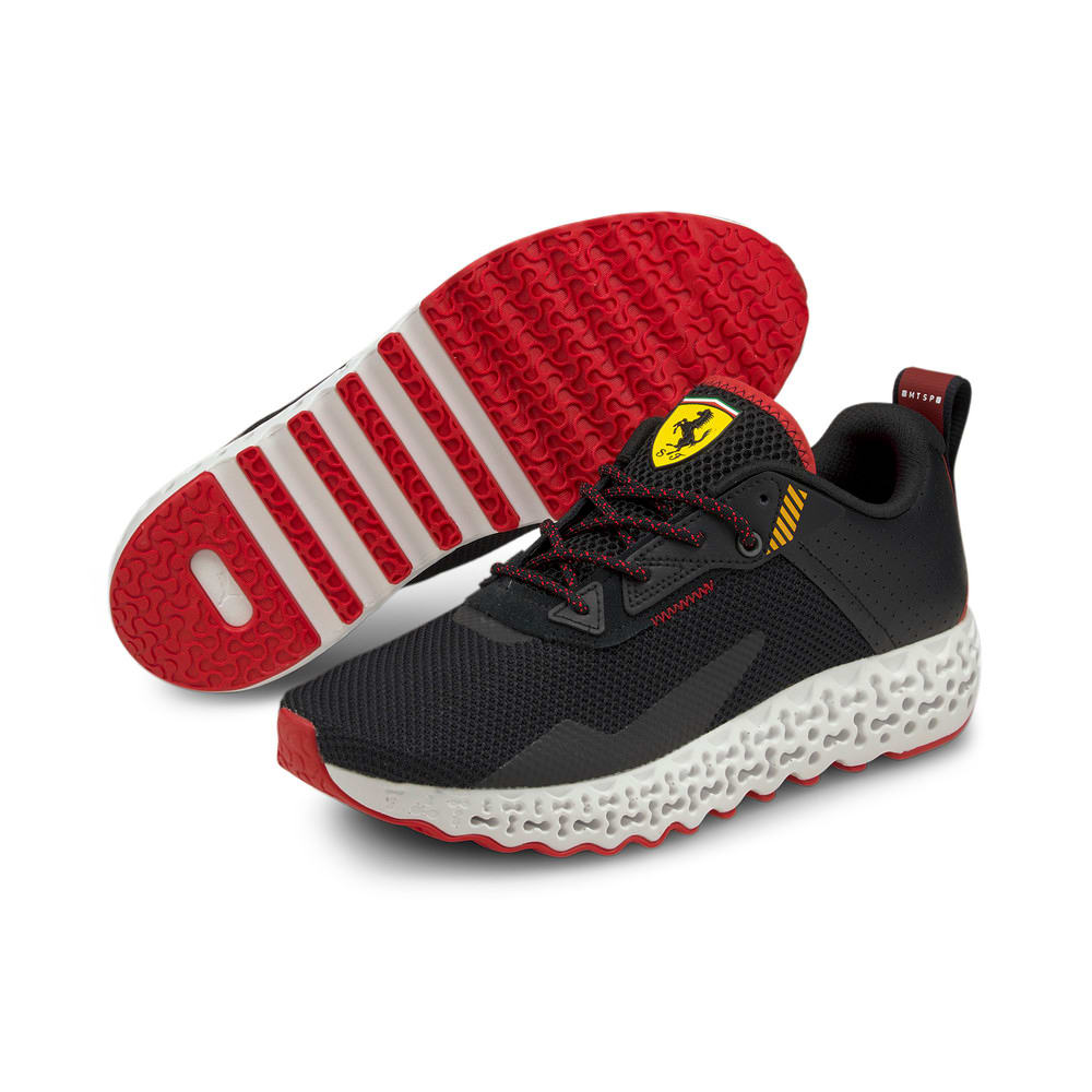 Зображення Puma Кросівки Scuderia Ferrari RCT Xetic Forza Men's Motorsport Shoes #2: Puma Black-Rosso Corsa