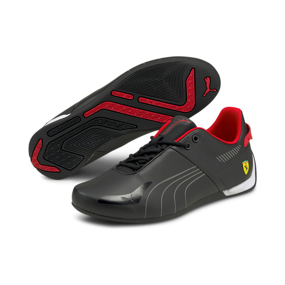 Изображение Puma Кроссовки Scuderia Ferrari A3ROCAT Motorsport Shoes #2: Puma Black-Smoked Pearl-Rosso Corsa