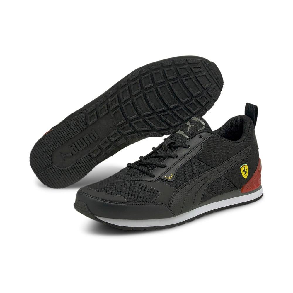Зображення Puma Кросівки Scuderia Ferrari Track Racer Motorsport Shoes #2: Puma Black-Puma Black-Saffron