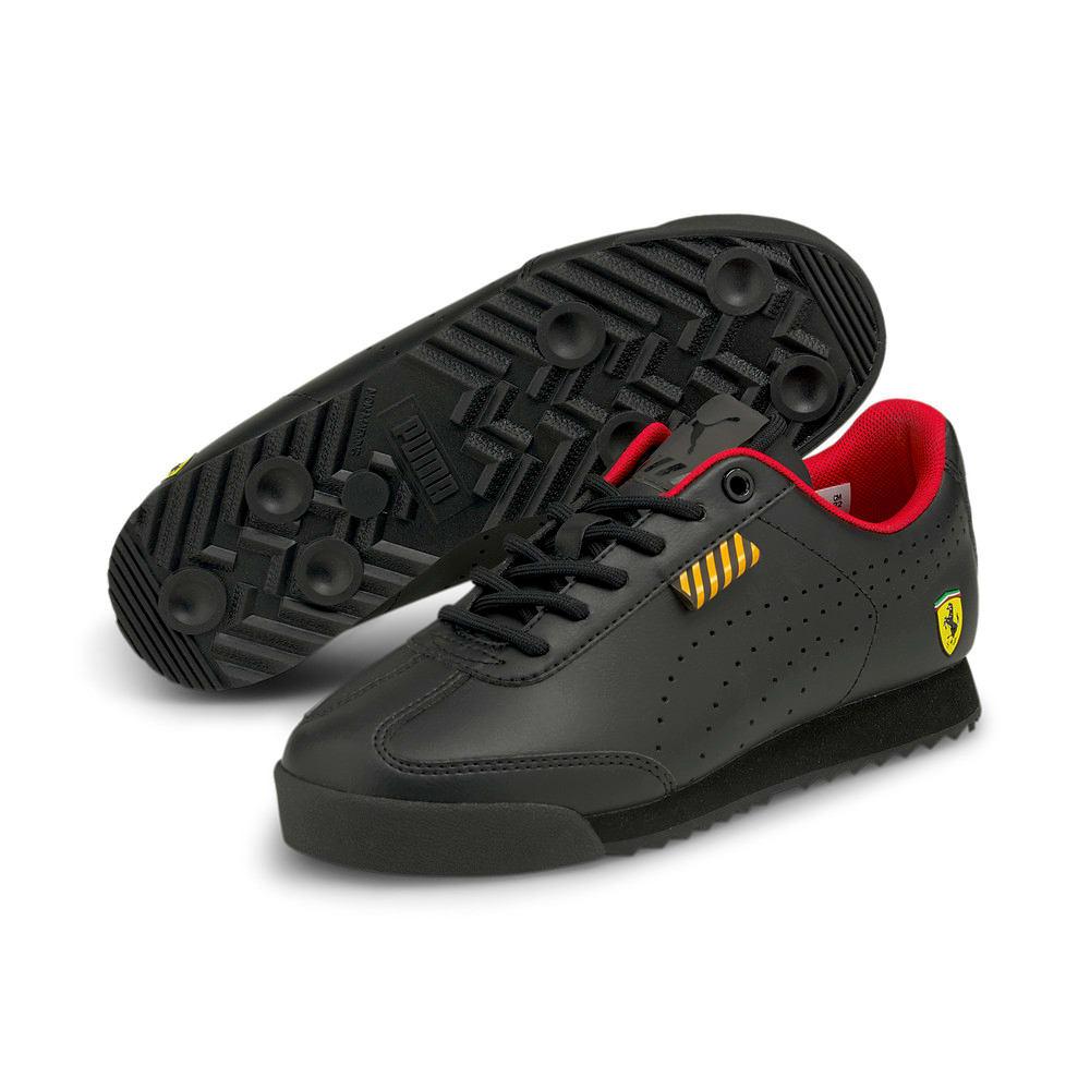 Зображення Puma Дитячі кросівки Ferrari Roma Via Perf Jr #2: Puma Black-Puma Black