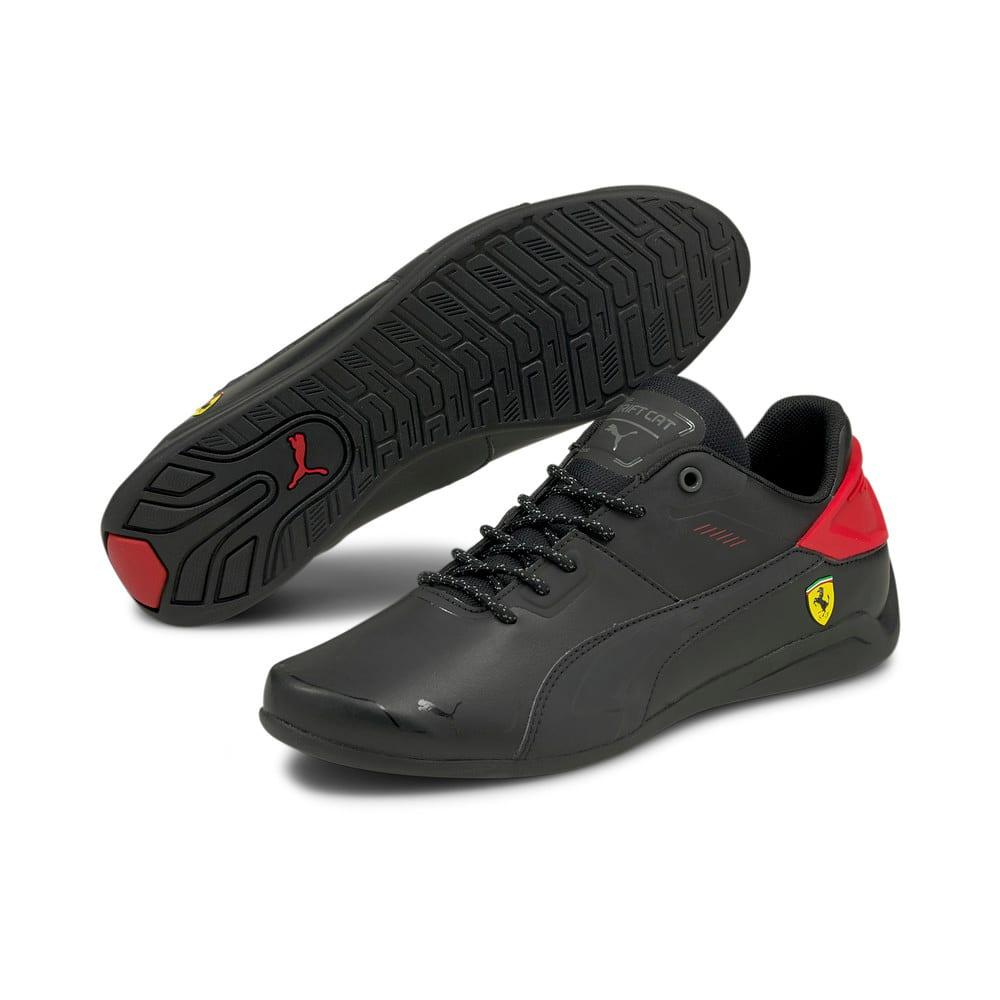 Зображення Puma Кросівки Scuderia Ferrari Drift Cat Delta Motorsport Shoes #2: Puma Black-Rosso Corsa
