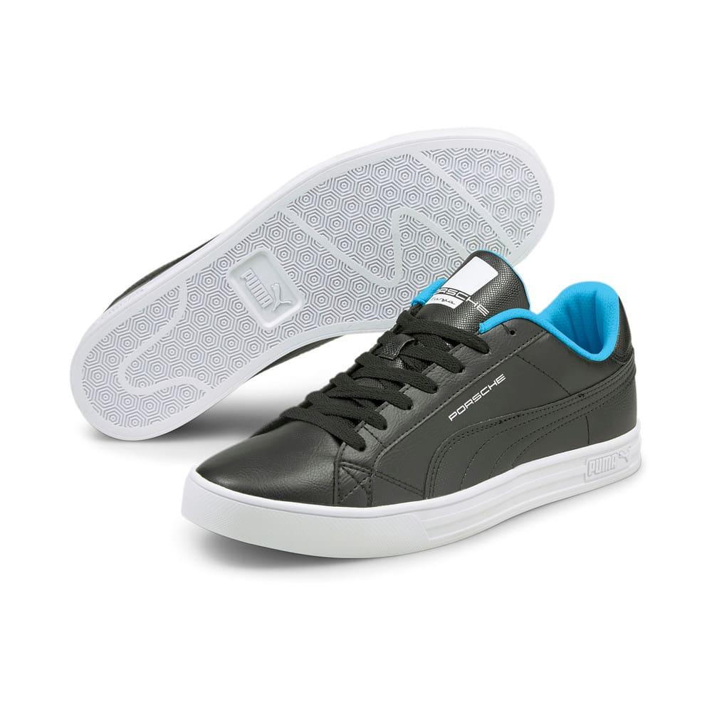 Зображення Puma Кеди Porsche Legacy Smash Vulcanised V3 Motorsport Shoes #2: Puma Black-Blue Atoll