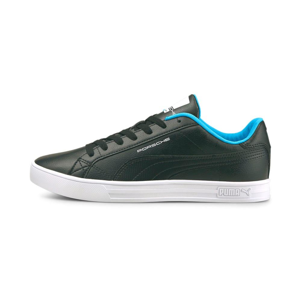 Зображення Puma Кеди Porsche Legacy Smash Vulcanised V3 Motorsport Shoes #1: Puma Black-Blue Atoll