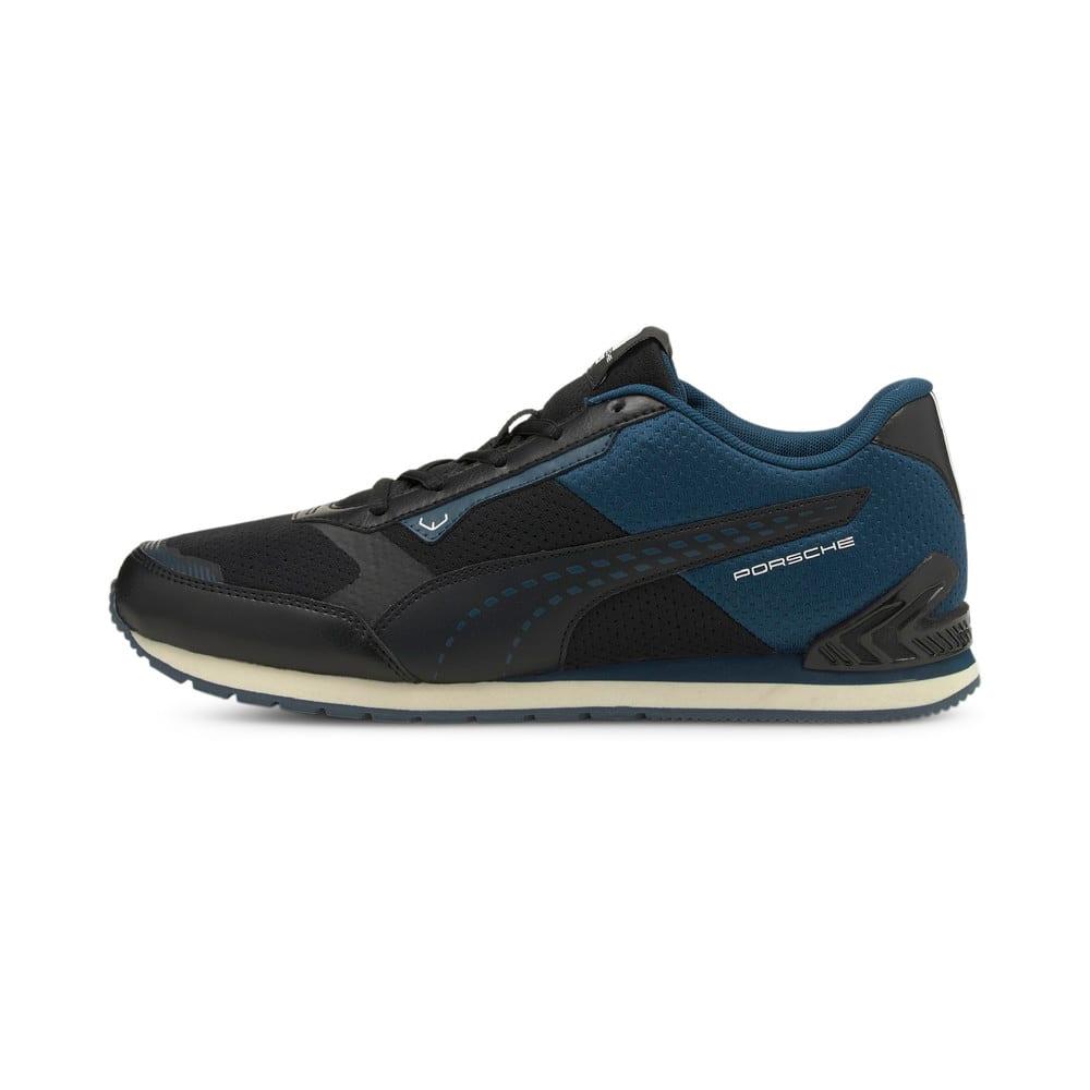 Изображение Puma Кроссовки Porsche Legacy Track Racer Motorsport Shoes #1: Puma Black-Intense Blue