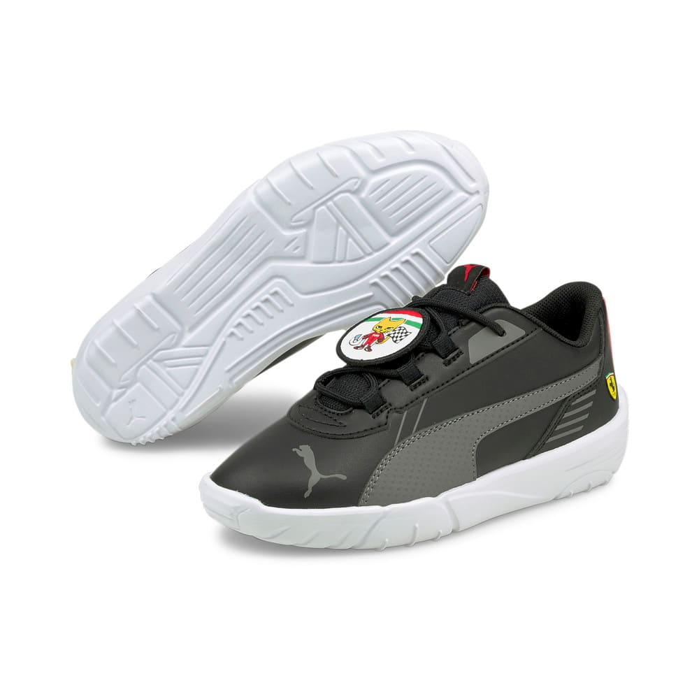 Изображение Puma Детские кроссовки Scuderia Ferrari R-Cat Machina Kids' Motorsport Shoes #2
