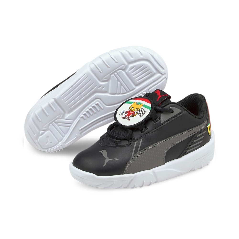 Image Puma Scuderia Ferrari R-Cat Machina Babies' Motorsport Shoes #2