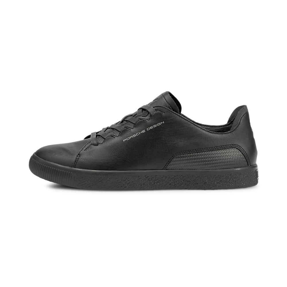 Зображення Puma Кеди PUMA x FIRST MILE Porsche Design Court Dix Men's Motorsport Shoes #1: Jet Black-Jet Black